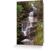 Gentle Waterfall -- Tirol Greeting Card