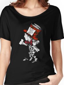 Scottish Mad Hatter T-Shirt Women's Relaxed Fit T-Shirt