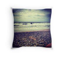 Cornwall Seas Throw Pillow