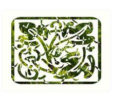 cypress decoration Art Print