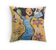 Just Dance Throw Pillow