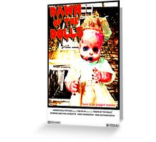 Dawn of the Dolls - Charlotte Greeting Card