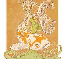 Koi Girl by Natasha Dancy