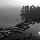 Misty Derwentwater  by Peter Skillen