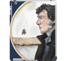 Sherlock watercolor iPad Case/Skin