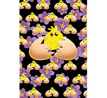 Easter Chick Photographic Print