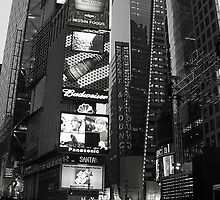 Crossroads - NYC by John Schneider