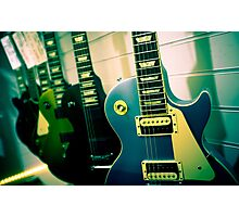 Gibson Les Paul guitars Photographic Print