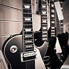 Gibson Les Paul electric guitars by Greg  Walker