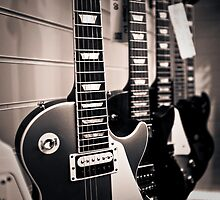 Gibson Les Paul electric guitars by Greg  Walker