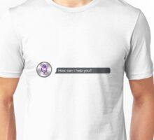 How can I help you ~ SIRI Unisex T-Shirt