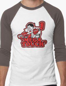 mega touch Men's Baseball ¾ T-Shirt