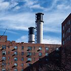 Stuy Stacks - New York City by Joel Raskin