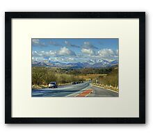 Rush Hour In The Lake District Framed Print