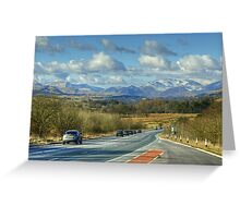 Rush Hour In The Lake District Greeting Card