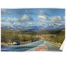 Rush Hour In The Lake District Poster