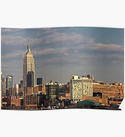 Empire State Building / Standard Hotel - NYC Poster