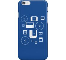 History of Nintendo Media 1989-2012 (iPhone case Blue) iPhone Case/Skin