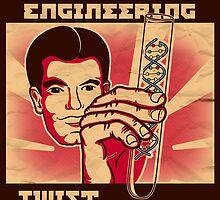 Genetics engineering. by J.C. Maziu