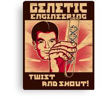 Genetics engineering. Canvas Print