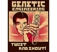 Genetics engineering. Photographic Print