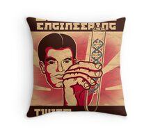 Genetics engineering. Throw Pillow