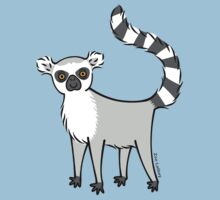Ring Tailed Lemur Kids Tee