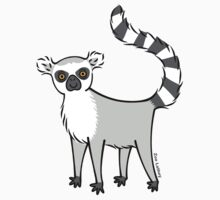 Ring Tailed Lemur One Piece - Short Sleeve