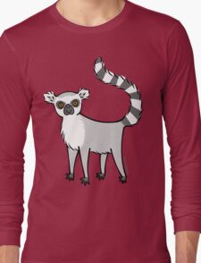 Ring Tailed Lemur Long Sleeve T-Shirt