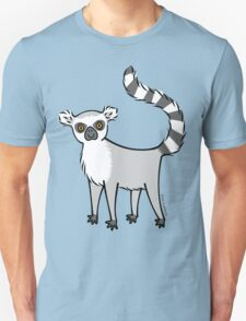 Ring Tailed Lemur Unisex T-Shirt