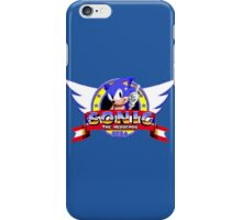 SONIC TITLE SCREEN iPhone Case/Skin
