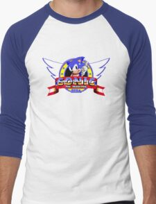 SONIC TITLE SCREEN Men's Baseball ¾ T-Shirt
