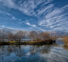 Winter Reflections by Adrian Evans