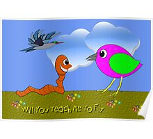Will You Teach Me To Fly Poster