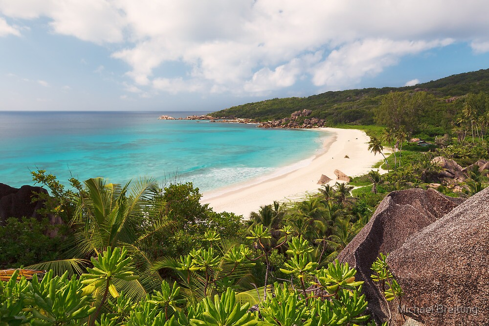 Grand Anse Overlook by Michael Breitung