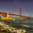 Golden Gate Bridge  by Rob Hawkins