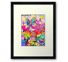 Butterfly Spring Framed Print