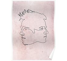 One Line Fight Club Poster