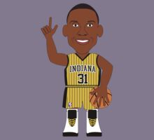 NBAToon of Reggie Miller, player of Indiana Pacers by D4RK0