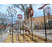 Whirly-Gigs Santa Fe Photographic Print