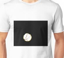 Silhouette Of Plant In Moonlight Unisex T-Shirt
