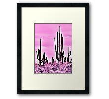 Wild Cactus Framed Print