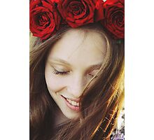 Rose crown Photographic Print