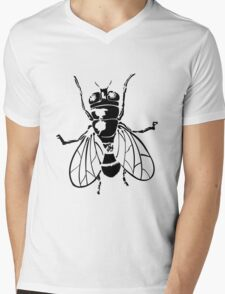 Fly Mens V-Neck T-Shirt