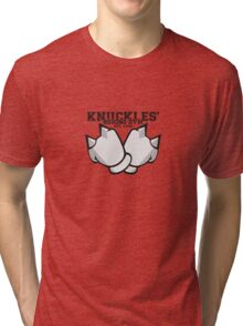 Knuckles' Boxing Gym Tri-blend T-Shirt