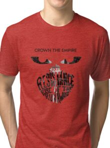 Crown the Empire Typography Tri-blend T-Shirt