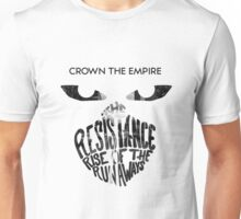 Crown the Empire Typography Unisex T-Shirt