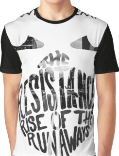 Crown the Empire Typography Graphic T-Shirt