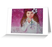 Flower Child Greeting Card