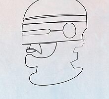 One line Robocop by quibe